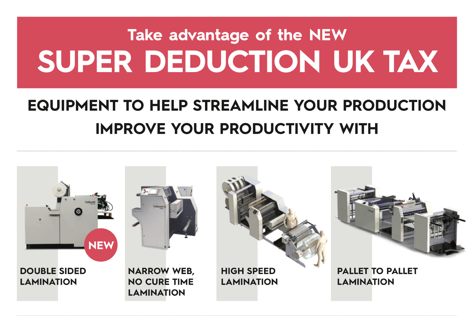 CellCoat Super Deduction UK Tax in machinery