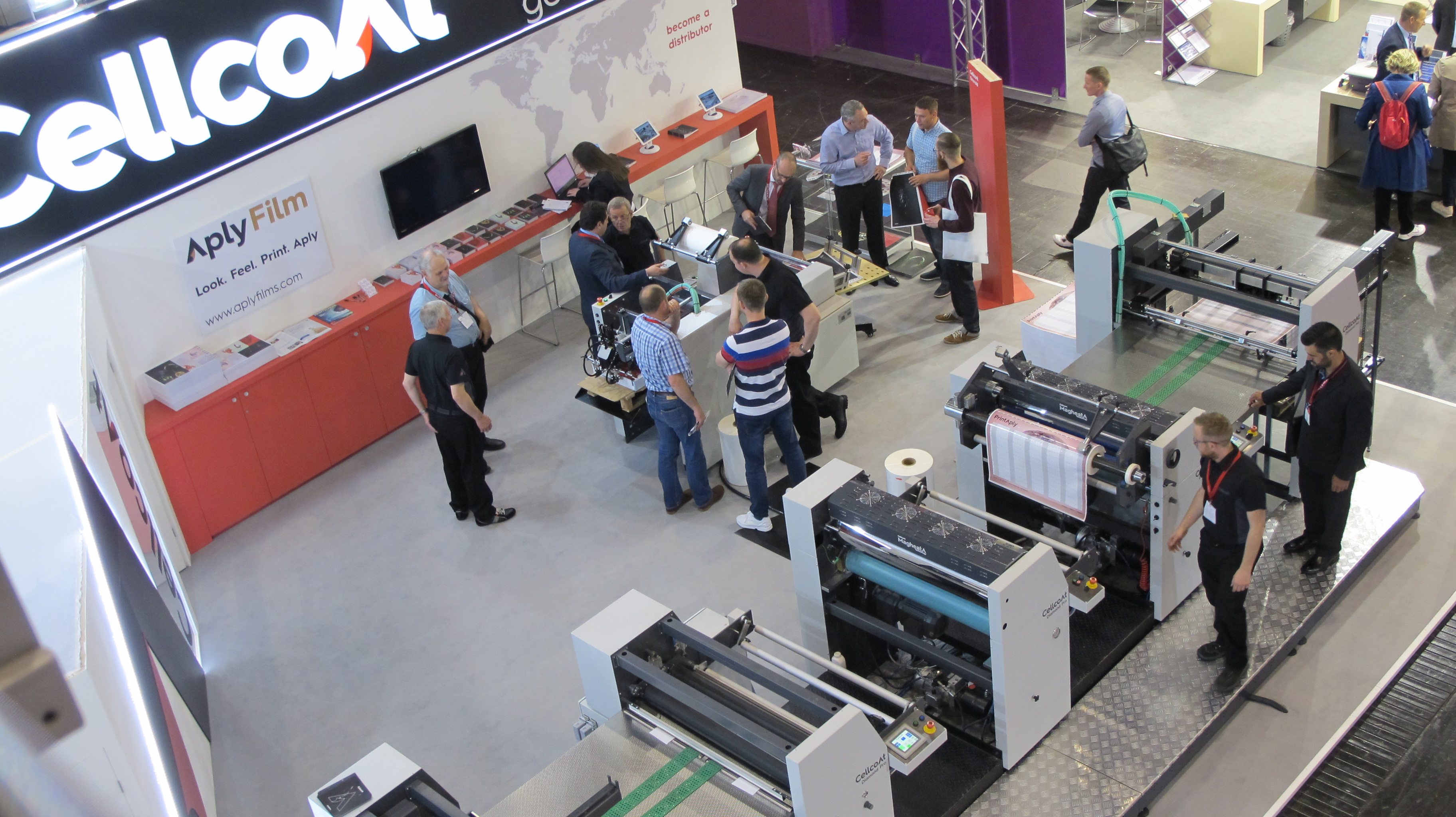 Drupa stand